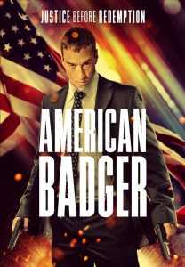 American Badger - poster