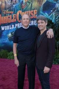 John Davis and John Fox - World Premiere of Jungle Cruise