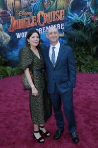 Amber Green, Michael Green - World Premiere of Jungle Cruise