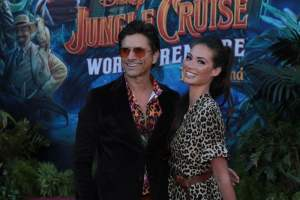 John Stamos, Caitlin McHugh - World Premiere of Jungle Cruise