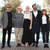 Matt Damon, Ridley Scott, Jodie Comer, Ben Affleck and Nicole Holofcener