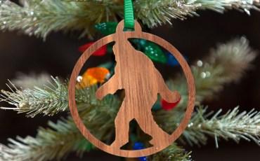 Sasquatch Ornaments