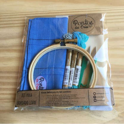Kit para Bordado Livre