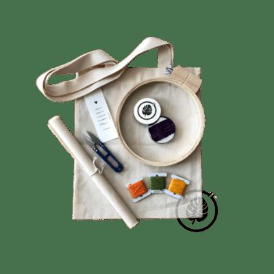 Kit para Bordado Livre - Bastidor dos Sonhos