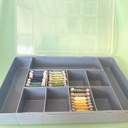 caixa organizadora meadas G