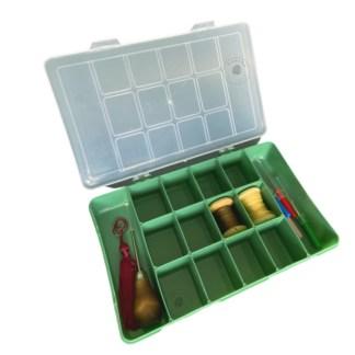 caixa plastica para artesanato