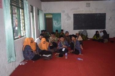 peserta MQK cabang Debat Bahasa Arab