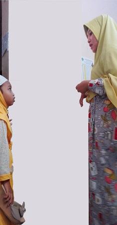 ibu dan anak bertengkar ilustrasi