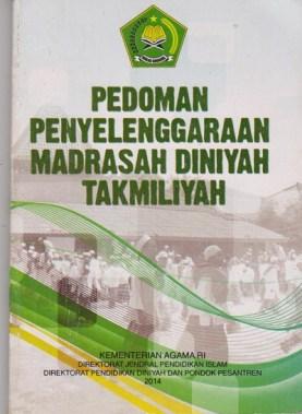 pedoman penyelenggaraan madrasah diniyah takmiliyah