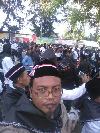 Apel Akbar Kesetiaan Pancasila Front Pengerak Pancasila (peserta dari Kediri)