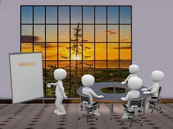 rapat anggota dewan (ilustrasi)
