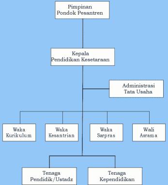 Struktur Organisasi PPS Wajardikdas & PMU