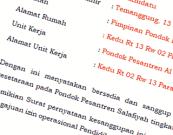 surat Pernyataan kesanggupan menyelenggarakan pendidikan kesetaraan pondok pesantren salafiyah ula wustha ulya