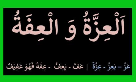 Menjaga Izzah dan Iffah bagi Muslimah Muslim
