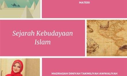 Silabus Materi Pelajaran Sejarah Kebudayaan Islam Tarikh Madin awwaliyah
