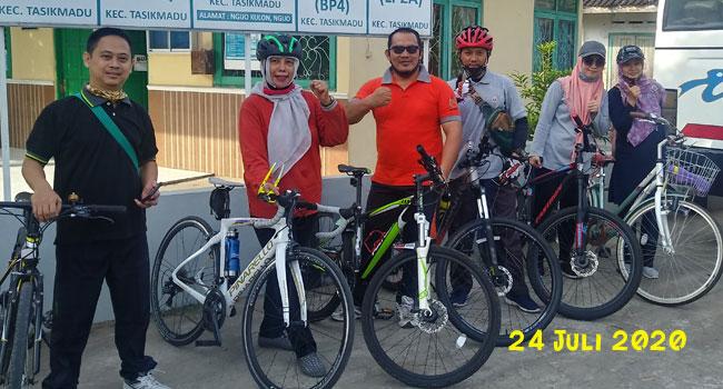 pengalaman bersepeda di Karanganyar