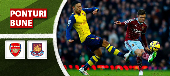 Arsenal vs West Ham – Premier League – analiza si pronostic