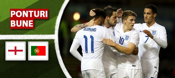 Pronosticuri pariuri Anglia U21 vs Portugalia U21 – Campionatul European