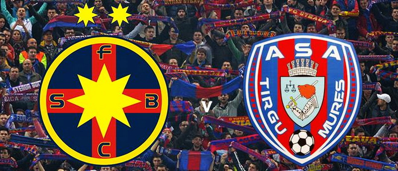 Ponturi pariuri – Steaua vs ASA Targu Mures – Liga 1