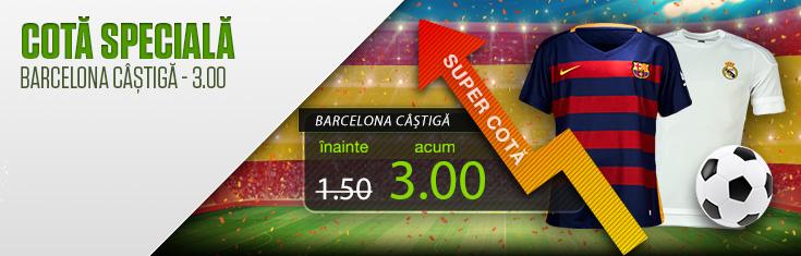 Promotii la pariuri online pentru El Clasico