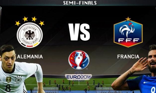 Ponturi pariuri – Germania – Franţa – Euro 2016 – Semifinale