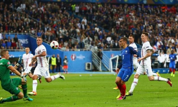 Euro 2016 | Franța s-a distrat cu Islanda în sferturi