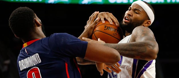 Ponturi NBA – duelul greilor in California: Cousins vs Drummond!