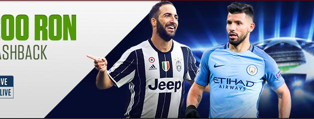 Rambursare de 200 RON la meciurile de Champions League