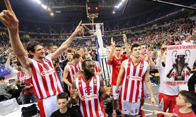 Ponturi Euroliga – Atmosfera infernala in arena la Steaua Rosie Belgrad