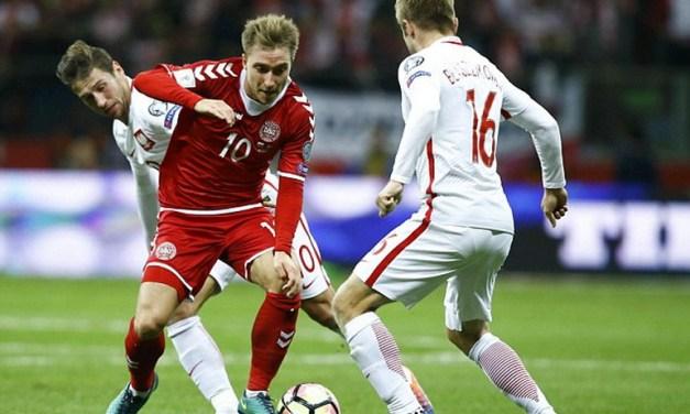 Lotul Danemarcei pentru meciul cu România