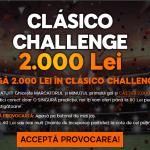 Castiga 2000 RON in provocarea El Clasico