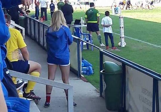 Andreea Delean, frumoasa de la rugby! Naționala Under-20 a României este pregătită de o blondă supersexy
