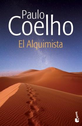 Portada libro el alquimista Paulo Coehlo