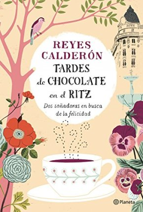 Portada libro tardes de chocolate en el ritz