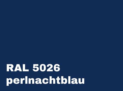 RAL 5026 Perlnachtblau
