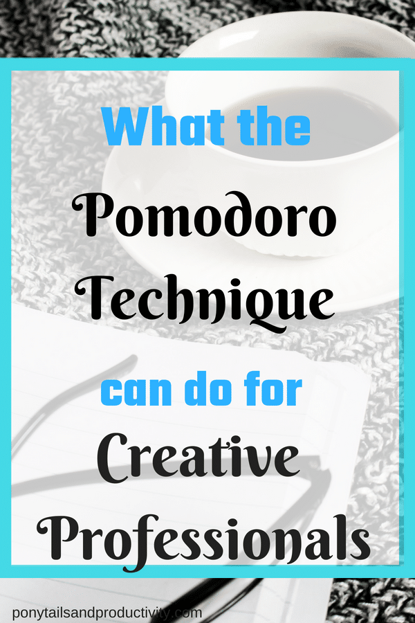 Pomodoro technique for creative professionals