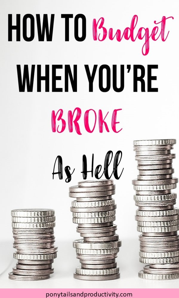 budget when you're broke