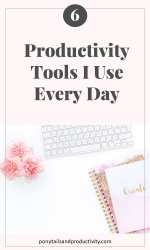 productivity tools I use daily