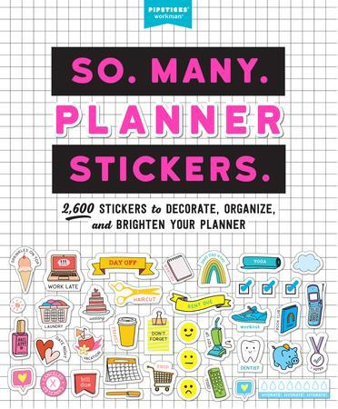 pipsticks so many planner stickers book