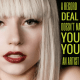 Poodle Mafia Marketing, Branding and PR for Personalities, Artists - Lady Gaga Quote