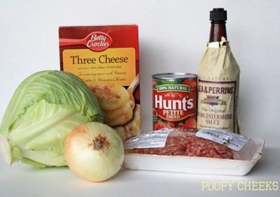 Carol's Cabbage Casserole