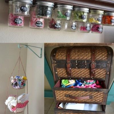 My Craft Room Organization