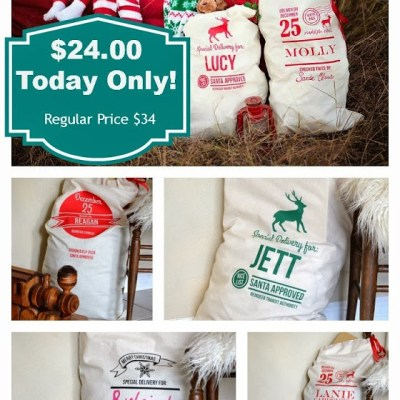 Santa Sack Sale–TODAY ONLY!