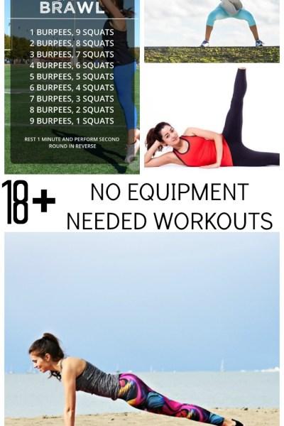 18 Quick No-Equipment Needed Exercise Routines