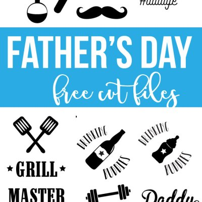 Father's Day Free Cut Files – SVG and DXF for Silhouette and Cricut