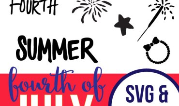 Fourth of July SVG and DXF Files – For Silhouette and Cricut