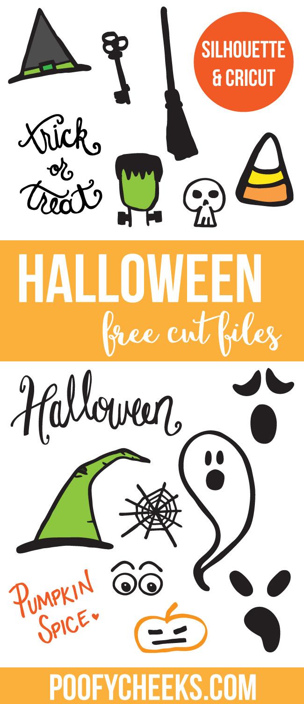 free halloween cut files