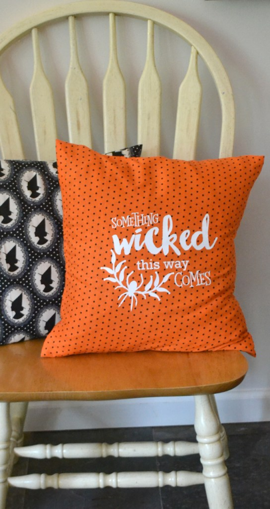 Halloween Pillow and Cut File