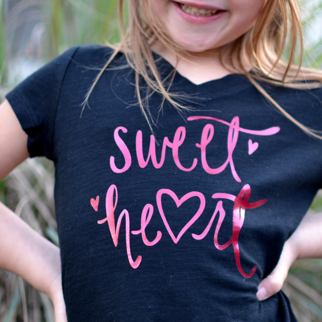 Valentine's Day Cut File - Sweet Heart Cut File for Silhouette and Cricut Machines
