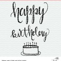 Happy Birthday Cut File – Free Cut File for Silhouette and Cricut – SVG, DXF, PNG